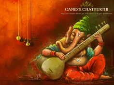 Ganesh Wallpapers: Ganesh Chathurthi is also known as Vinayagar Chathurthi celebrated by Hindus all over the world. Ganesha Drawing, Lord Ganesha Paintings, Lord Shiva Painting, Buddha Painting, Ganesha Art, Krishna Painting, Buddha Art, Krishna Art, Mural Painting