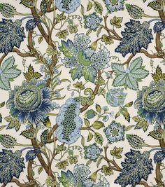 Robert Allen @ Home Robert Allen St Etienne Cn Lapis Fabric Paisley Fabric, Floral Fabric, Blue Fabric, Floral Curtains, Drapery Fabric, Sari Fabric, Fabric Art, Fabric Wallpaper, Of Wallpaper