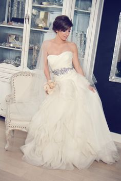 vera wang diana - only with a black sash. love!