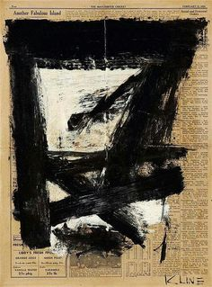 Franz Kline, Untitled, 1954.                                                                                                                                                                                 Mehr