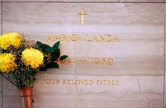 Mario Lanza - American tenor, actor and Hollywood film star of the late 1940's and the 1950's.
