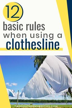 Everything that's old is new again! We will give you the basic rules for using a clothesline & how to hang your clothes for the best results #hangingclothes #clothesline #howtohangclothes Natural Cleaning Solutions, Natural Cleaning Products, Clothespin Bag, Clothes Basket, Boredom Busters, Rubbing Alcohol, Clothes Line, I Laughed, Southern