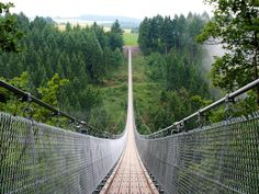 With a length of 1,180 feet and height of 330 feet, this bridge is not exactly for the weak of heart. But its stunning Hunsrück setting might inspire you to face your fears.