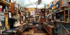 One Man's Discarded Trinkets Become Art—in a Dumpster in Brooklyn
