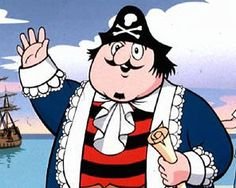 The first episode of Captain Pugwash aired on 22 October 1957. The children's animation was written, illustrated and produced by John Ryan. The bumbling Captain was brought to life by Peter Hawkins, who provided all the voices. The simple but beautifully crafted cartoon, with cut-out figures moved by cardboard levers, contributed to the overall charm of the programme, which is still fondly remembered years after it was last shown.
