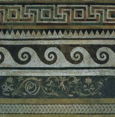 Ancient Greek mosaic, 159-138 BCE