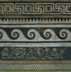 Ancient Greek mosaic, 159-138 BCE