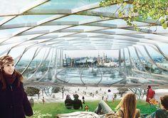 "Diller Scofidio + Renfro's Winning Proposal for Zaryadye Park: ""Wild Urbanism"""