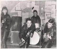 The Beatles at the Cavern Club, c. 1961