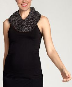 Take a look at this Gray Everywear Scarf by Ingrid & Isabel on #zulily today!