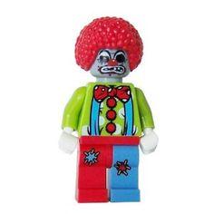 http://miniBigs.com zombie clown Fleshie McRottie.  Custom Head design I did.