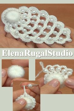 In this video we used yarn: acrylic mohair, 500 m in 100 gm and crochet hook 2 mm or mm. Thanks for watching! In this video we used yarn: acrylic mohair, 500 m in 100 gm and crochet hook 2 mm or mm. Thanks for watching! Crochet Jewelry Patterns, Crochet Earrings Pattern, Crochet Flower Patterns, Crochet Accessories, Crochet Designs, Crochet Flowers, Crochet Flower Tutorial, Form Crochet, Crochet Lace Edging