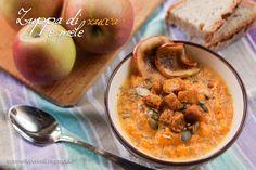 #pumpkin and #apple soup on http://trafornelliepennelli.blogspot.it/2014/11/zuppa-di-zucca-e-mele.html