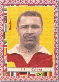 Cromos soltos - Mario Coluna - S.L. Benfica - 1966