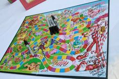 Have everyone sign a candyland board for the birthday girl
