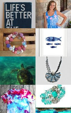Life is better at the beach, integritytt by Marie ArtCollection on Etsy--Pinned with TreasuryPin.com