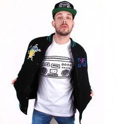 Keith Harin by House of Field Boombox Tee | Patricia Field