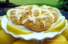 Almond Flour Lemon Buttermilk Scones Recipe | In The Kitchen With Honeyville
