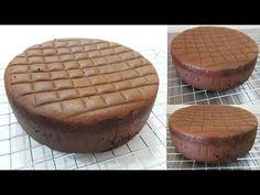 สปันจ์เค้กแบบไม่ใส่สารเสริม SP หรือโอวาเลต เนื้อเค้กนุ่มมาก l ครัวป้ามารายห์ - YouTube