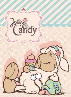 Sweet Drawings, Cartoon Drawings, Animal Drawings, Cool Drawings, Funny Sheep, Cute Sheep, Bear Cartoon, Cute Cartoon, Cute Clipart