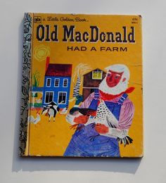 Old MacDonald Golden Book by GiddyGirlVintage on Etsy, $5.00