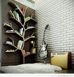 I think trees in bedrooms are overdone to say the least but I do really like this for Otts new room