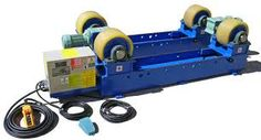Turning rolls for welding and painting tanks and cylindrical objects. Rotators for pipe and tank turning.