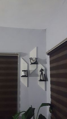 Murphy Desk, Outdoor Kitchen Cabinets, Floating Shelves Diy, Blinds, Curtains, Home Decor, Decoration Home, Room Decor, Shades Blinds