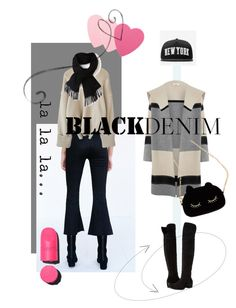 """Black Jeans"" by kari-c ❤ liked on Polyvore featuring BDG, Vince, Stampd, Lacoste, Vince Camuto, Sephora Collection, Chanel, WithChic, women's clothing and women's fashion"
