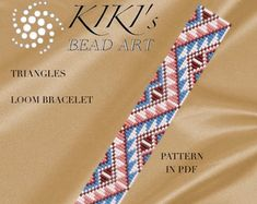 This is a LOOM bracelet pattern in PDF format for my Cute reindeer bracelet, downloadable directly from ETSY. This pattern is created for Japanese size 11 Miyuki delica beads. The pdf file includes: 1. a large picture of the pattern 2. a large, detailed graph of the pattern, 3. a bead legend with the colour numbers and count of the delica beads for the suggested length 4. a word chart of the pattern. Please note that my patterns do not include instructions for how to do the Loom…