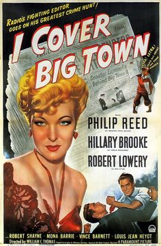 One Sheet for I Cover The Big Town with Hillary Brooke