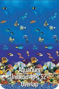 GLI Pool Products Aquarium Fish Overlap Above Ground Pool Vinyl Liners