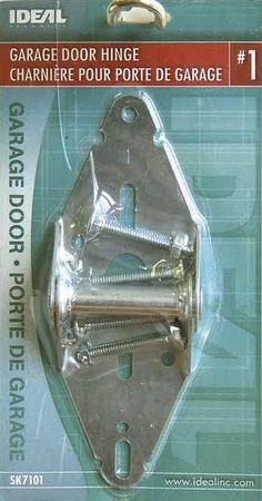 Ideal Security SK7101 GARAGE DOOR HINGE #1 galvanized steel overhead sectional