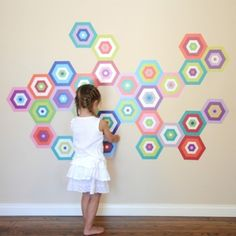 Pop and Lolli Puzzling Tiles Wall Decals