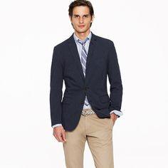 Stripe twill sportcoat in Ludlow fit