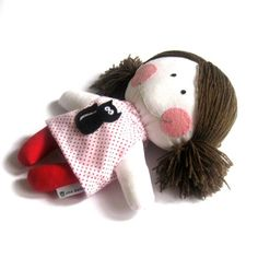 Doll baby girl toy handmad