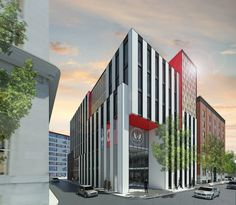 US consulate, Montreal, proposal One - Lemay Lab architectes
