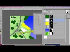 ▶ Quick plan painting/rendering in Photoshop - YouTube