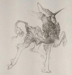 Draw Creatures Just struttin' - Fantasy Creatures, Mythical Creatures, Fantasy Kunst, Fantasy Art, Animal Drawings, Art Drawings, Book Art, Illustration Art, Illustrations