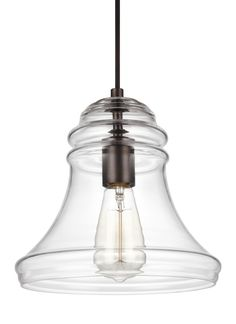 Feiss Doyle 1-Light Mini-Pendant Oil Rubbed Bronze