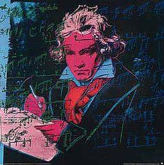 Andy Warhol - Beethoven (B), 1987 - Kunstdrucke Poster