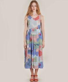 Lenticular Long Pleat Dress i want
