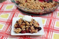 Healthy Berry Chia Cobbler Recipe