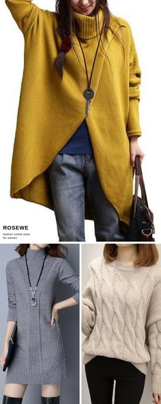 Sweater 2017 new style at rosewe.com, more discount and better service, check them out.