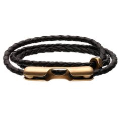 Giles & Brother - Men's Leather ID Wrap Bracelet Leather Jewelry, Leather Bracelets, Bracelets For Men, Wrap Bracelets, Leather Projects, Braided Leather, Leather Men, Sterling Silver Jewelry, Fashion Accessories