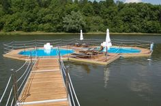 do it yourself swimming pools   The floating pool comes in all shapes and sizes so you can customize ...