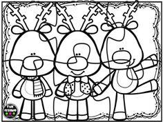 Puzzles navidad para colorear (7)