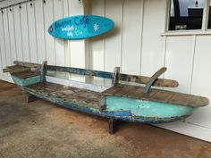 Seaside Decor, Coastal Decor, Rustic Decor, Diy Home Decor, Diy Porch, Diy Patio, Boat Furniture, Hawaiian Decor, Room To Grow