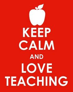 … love teaching