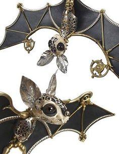 Steampunk Bats ~♏...
